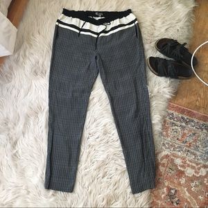 Vince Pants - Vince Patterned Silk Drawstring Pants